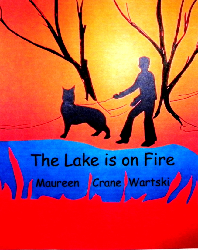 The Lake Is On Fire Cover